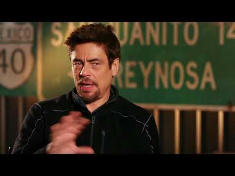 Sicario Day Of The Soldado - Itw Benicio Del Toro (official Video)