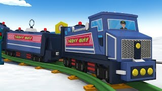 Train - Trains for Kids - Kids Videos for Kids - Cartoon Cartoon - Thomas The Train - Toy Factory