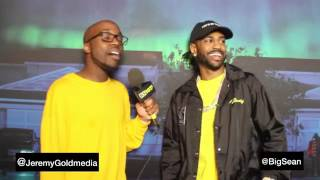 Big Sean Interview: I decided Album, Rihanna, Carpool Karaoke, Taxes, AND More!