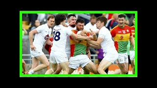 Breaking News   Carlow create seismic shock with defeat of Kildare
