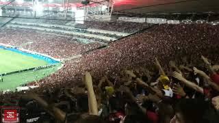 Torcida do Flamengo contra a LDU - Libertadores 2019