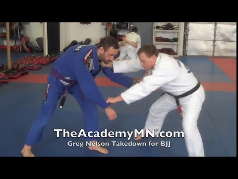 Jiu Jitsu MN | Greg Nelson - BJJ Single Leg Takedown | FREE 30 Days Image 1