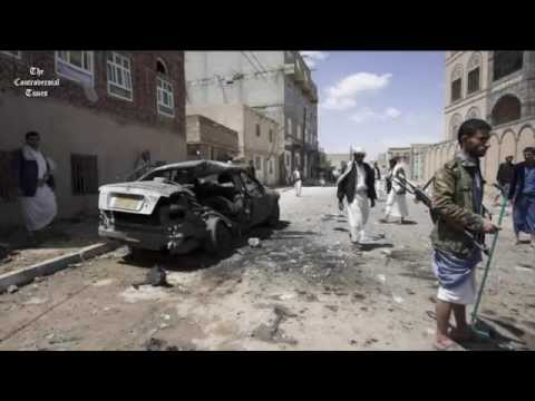 Most terrible Live Bombing scene in Yemen Shia mosques | 150 killed |  'Isil'