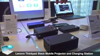 Lenovo Thinkpad Stack Mobile Projector and Charging Station