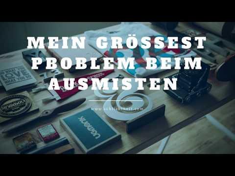 Mein größtes Problem beim Ausmisten - Minimalismus-Vlog#016 -  Die Entdeckung der Schlichtheit