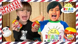 I MAILED MYSELF to RYAN TOYSREVIEW and IT WORKED! We Got RYAN'S WORLD Toys, Slime and Combo Panda!