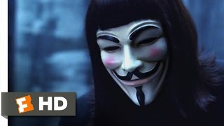 V for Vendetta (2005) - V's Vengeful Visit Scene (4/8) | Movieclips