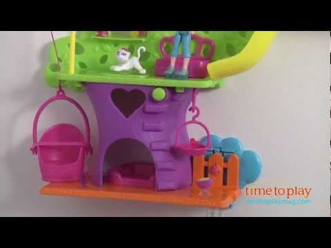 Polly Pocket Wall Party Tree House from Mattel