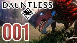 Dauntless #001: Neues Action-MMORPG in der Open-Beta | Dauntless Gameplay German