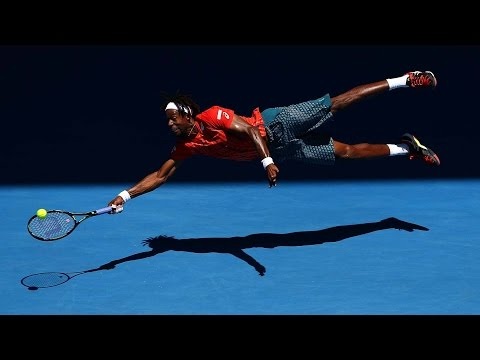 Gael Monfils - Best Points - Australian Open 2016 (Allez Points) [HD60fps]