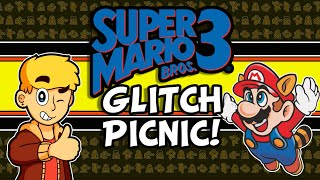 Super Mario Bros 3 Glitch Picnic | Mario 3 Glitches (NES) | MikeyTaylorGaming
