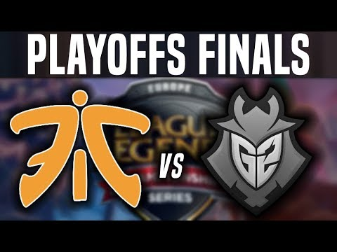 FNC vs G2 - Game 1 - EU LCS Spring Playoffs Final - Fnatic vs G2 Esports G1 EU LCS Playoffs Finals
