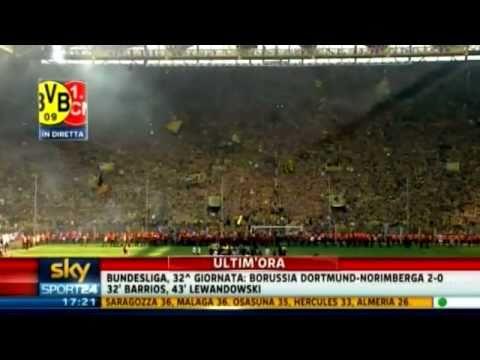 Borussia Dortmund Norimberga 2 0 30 April 2011 32. Bundesliga spieltag ist meister Highlights