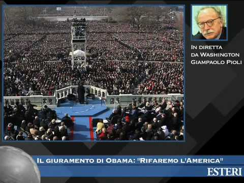 il giuramento di Obama: Rifaremo l'America