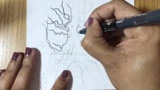 #Roots #watercolourpaintingprocess #illustration