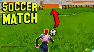 SOCCER IN FORTNITE! (SECRET) Fortnite Funny Fails and WTF Moments! #66 (Daily Fortnite Best Moments)