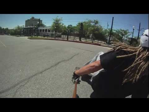 Longboarding at University of Utah Salt Lake City