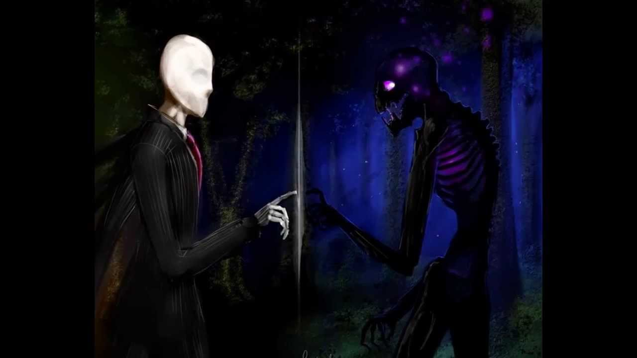 slenderman and enderman tribute youtube