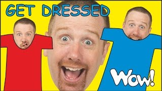 Get Dressed Kids | Kids Story with Steve and Maggie | Short Stories for Kids from Wow English TV