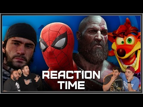 PlayStation E3 2016 Conference - Reaction Time!