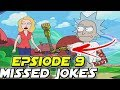 Rick And Morty Season 3 Episode 9 Easter Eggs & Missed Jokes