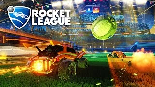 Rocket league 4vs4 - avec Azenet, Mouette & Ika