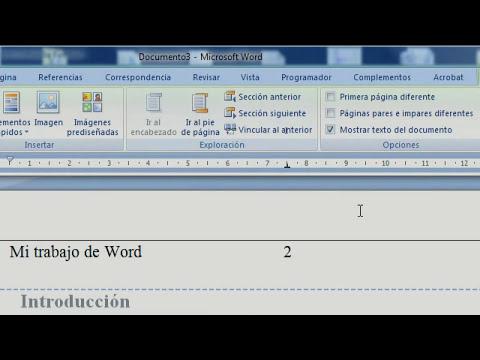 Aprende a usar bien Microsoft Word (1ª Parte)