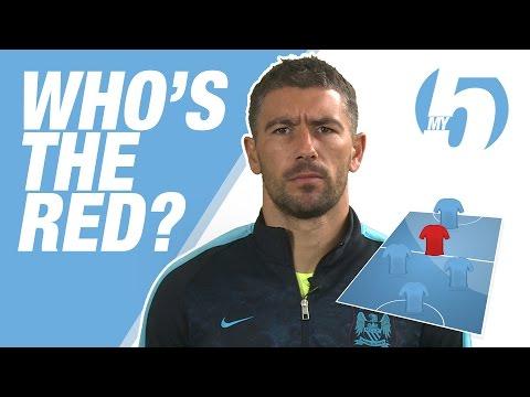 WHO'S THE RED? | Aleks Kolarov's Best Ever Five-A-Side Team