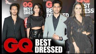 GQ Best Dressed 2017 Awards Full Red Carpet HD - Shraddha Kapoor, Tiger Shroff, Shruti Hassan