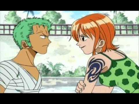 Zoro And Nami - Fuck Off And Die! video