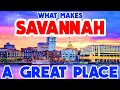 SAVANNAH, GEORGIA - The TOP 10 Places you NEED to see