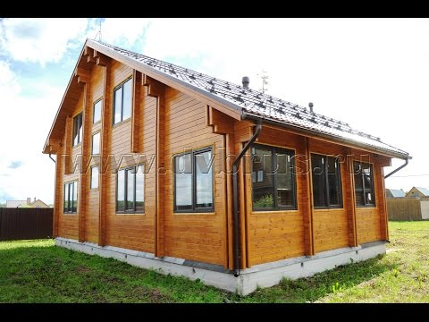 Дом из Двойного Бруса Московская область