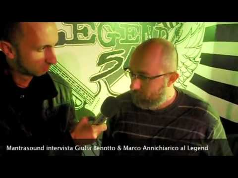 Mantrasound intervista Giulia Benotto & Marco Annicchiarico- Serata Tributo A. Bono -