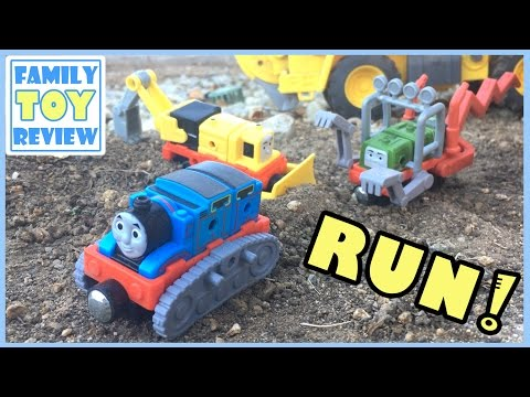 Thomas & Friends CHASED by Train Maker MONSTER Pack GATOR 토마스와친구들 SAVED by Construction Pack 토마스