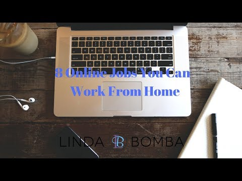 6 Online Jobs You Can  Work From Home