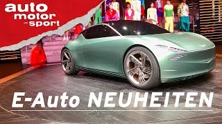E-Auto Highlights 2019 - New York Auto Show I auto motor und sport