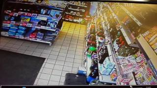 Shoplifter steals cancer charity box
