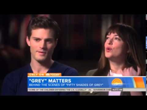 Fifty Shades Behind the Scenes Interview on the Today Show