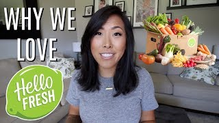 HELLOFRESH, OUR SECOND BOX! | ITSJUSTKELLI