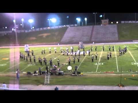 Hueytown High School Marching Band @ the JEFCOED 2013 Band Jamboree