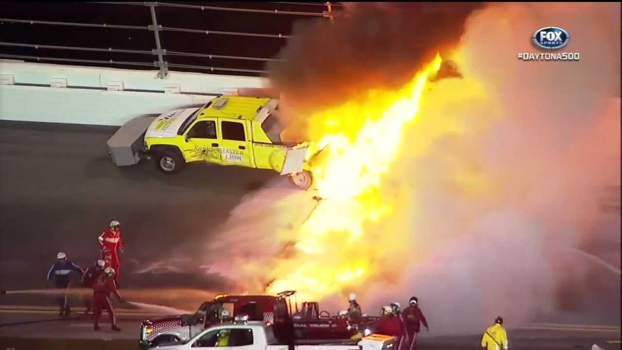 Nascar Crashes 2012 2012 Nascar Daytona 500 Juan