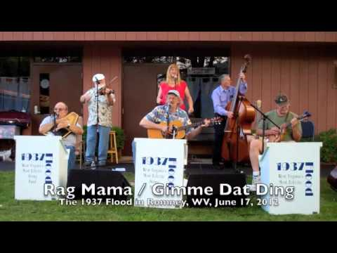 """Rag Mama/Gimme Dat Ding,"" The 1937 Flood at Romney, WV, June 17, 2012"