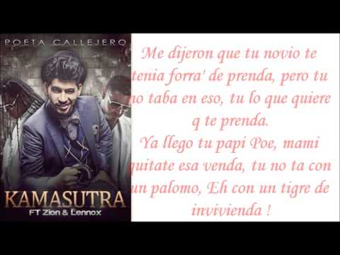 Letras - Poeta Callejero Ft. Zion & Lennox - Kamasutra (nuevo 2013) video