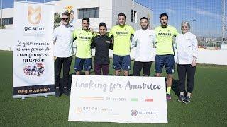 El Villarreal CF y Gasma, solidarios con Italia