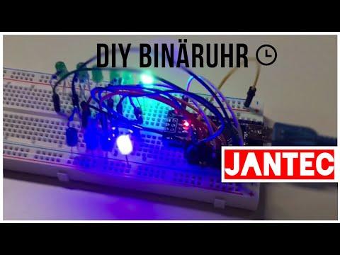 Binäre Uhr mit arduino nano selber bauen: Anleitung, DIY | JanTec