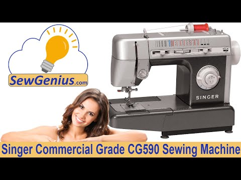 singer cg590 commercial grade sewing machine