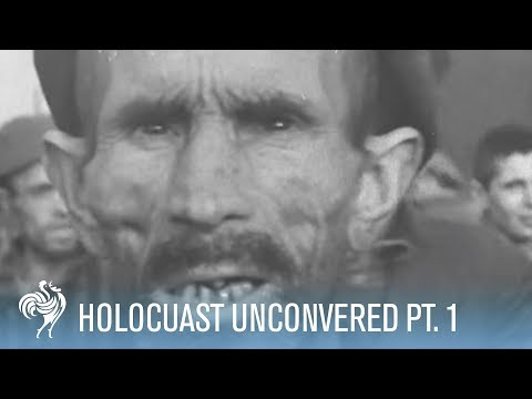 Holocaust Footage (1945) - Part One - [WARNING: DISTRESSING IMAGES]
