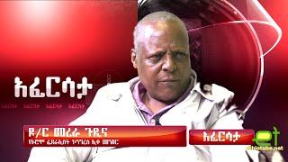 Ethiopia: EthioTube አፈርሳታ - Oromo Federalist Congress Chairman Dr. Merera Gudina | August 2016