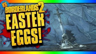 EASTER EGGS - Fight For Sanctuary DLC [Borderlands 2]