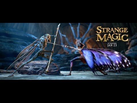 Travel to the magical and mysterious worlds of Strange Magic. Watch the new trailer now and see the film in theatres January 23! Like Strange Magic on Facebo...